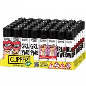 ACCENDINI CLIPPER LARGE GIRL POWER 2  48 PZ