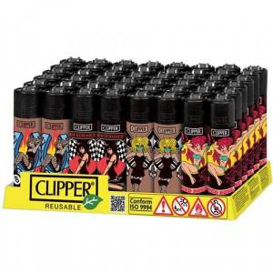 ACCENDINI CLIPPER LARGE GIRLS  1  48 PZ