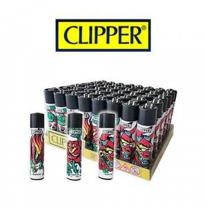 ACCENDINI CLIPPER LARGE HARD TATTO  H 48 PZ