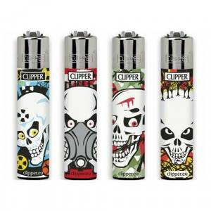 ACCENDINI CLIPPER LARGE SKULL KILLER  48 PZ