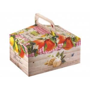 Amaretti Virginia ' in cestino' agli agrumi art. 17382 gr 240 1 pz