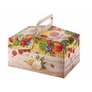 Amaretti Virginia ' in cestino' assortiti frutta art. 17382 gr 240 1 pz