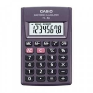 CALCOLATRICE CASIO HL-4A 1 PZ
