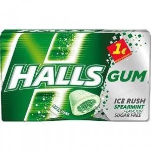 HALLS GUM SPEARMINT 16 PZ