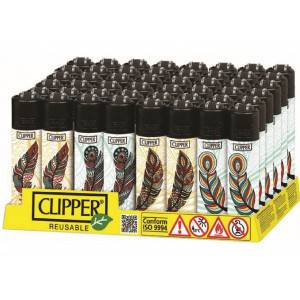ACCENDINI CLIPPER MICRO FEATHERS  48 PZ